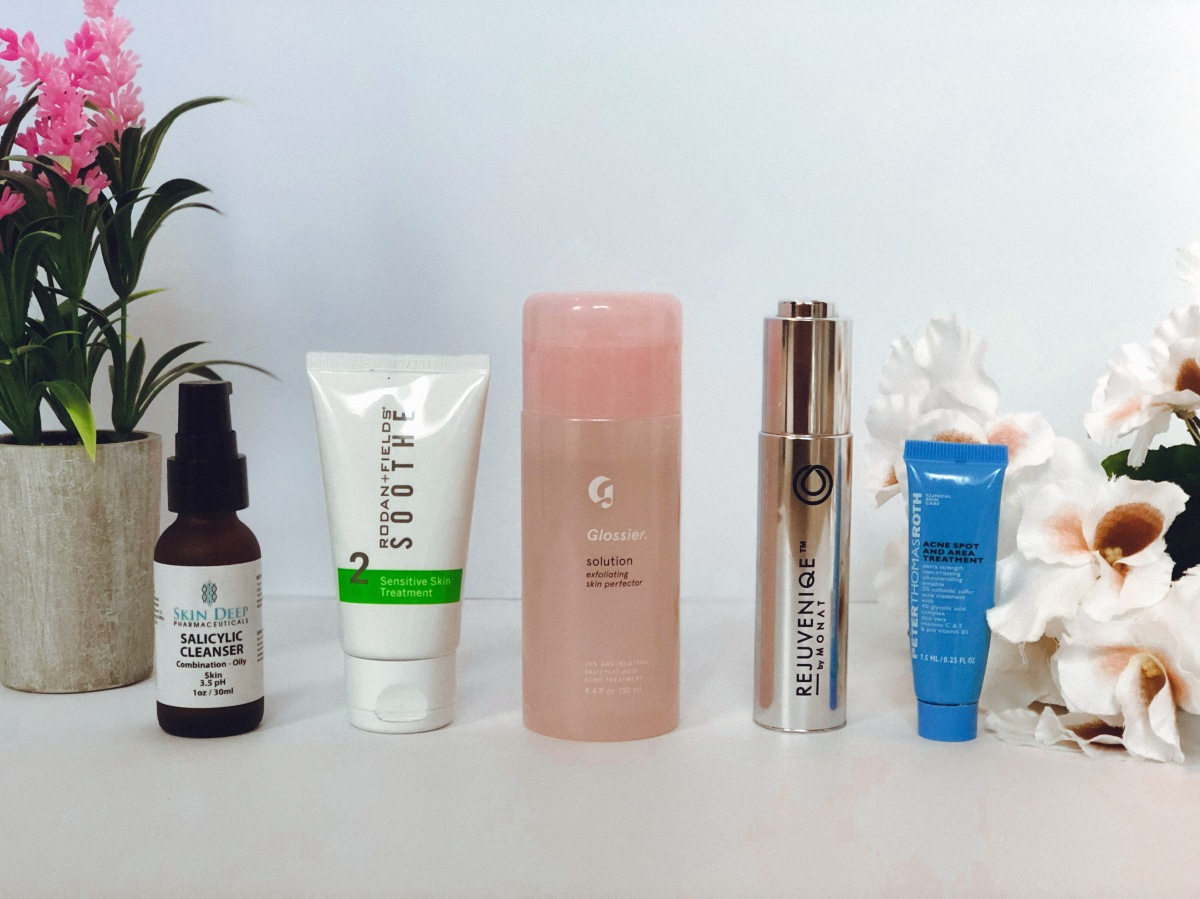 My go-to skincare routine for breakouts