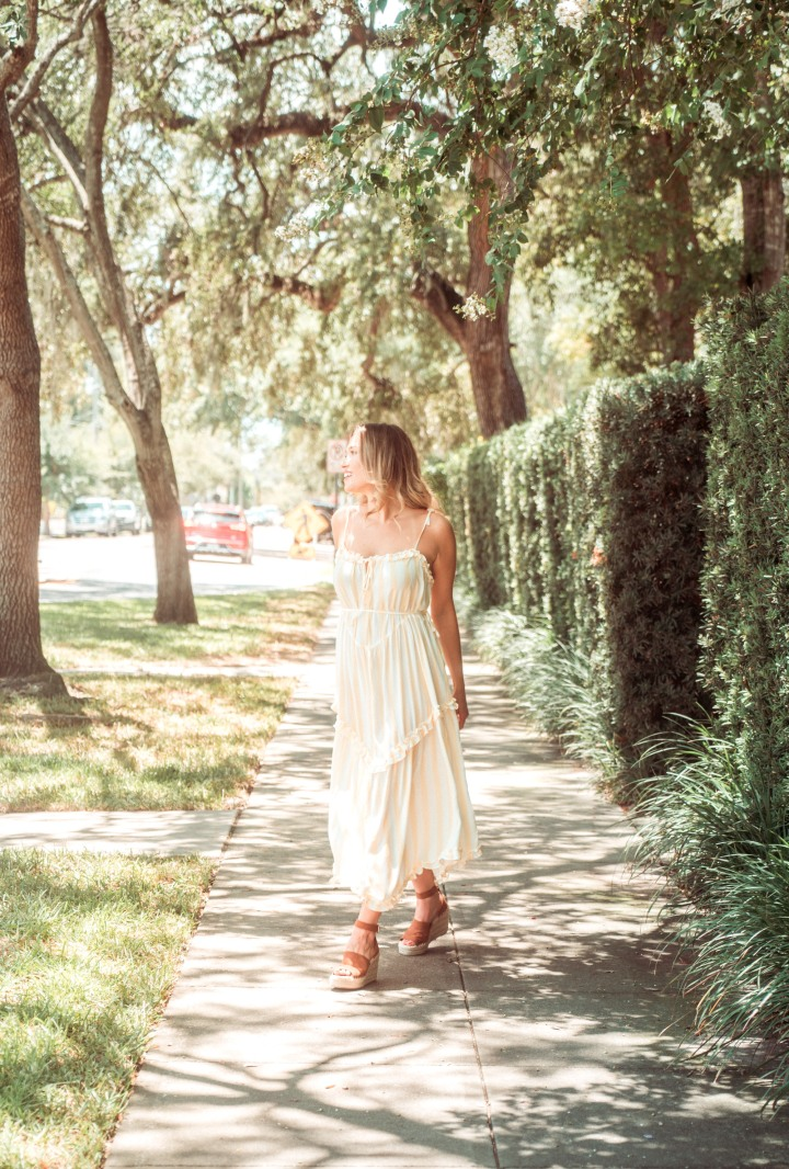 Flowy dresses & why you shouldn't let that one thing hold you back